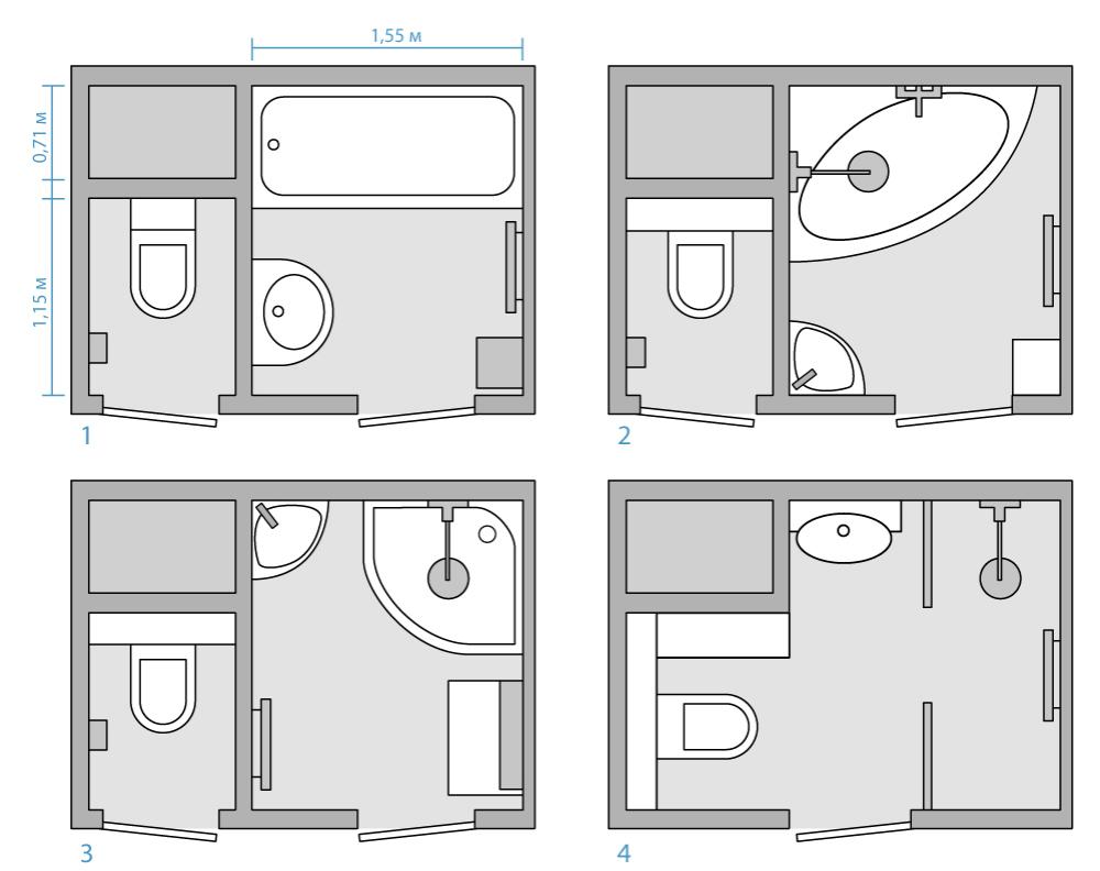 сделать дизайн ванной комнаты фото
