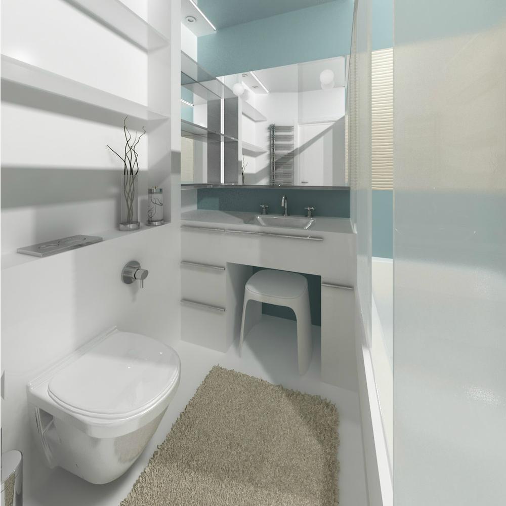 Фото дизайна ванной комнаты эконом