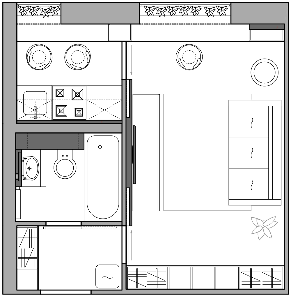 фото планировка комнаты 9 кв.м фото