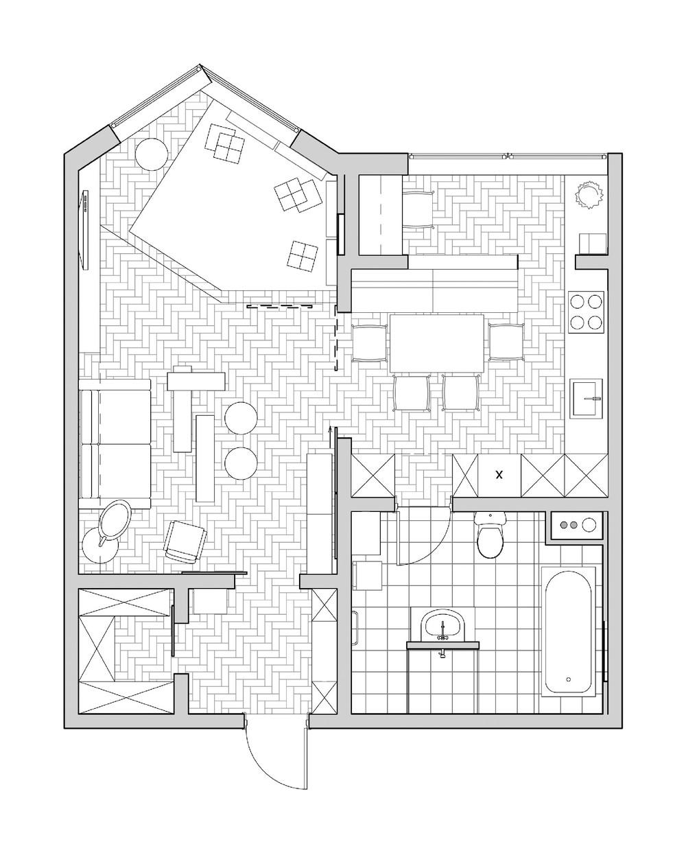 Купить 3-комнатную квартиру на улице Докукина в Москве