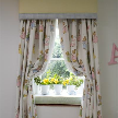 На фото: модель Barbara`s Bunnies curtains от фабрики Dragons of Walton Street.