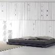 Кровать ANDAMAN TATAMI от фабрики Orizzonti, дизайн Navone Paola.