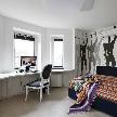 Интерьер спальни из проекта, реализованного бюро дизайна и архитектуры  «New Interior».