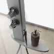 Модель Start! 70x140 Walk In от фабрики Jacuzzi, дизайн Urbinati Carlo.