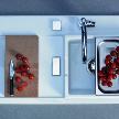 Кухонная мойка 751090 от фабрики Duravit, дизайн Starck Philippe.