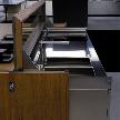 Кухонный гарнитур Cover от фабрики Ernestomeda, дизайн Arosio Pietro.