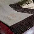 Плед Plaid in lino ricamato от фабрики Longhi, дизайн Vigano Giuseppe, Studio V7.