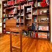 Модель Библиотека с откидным столом от фабрики Lumi.
