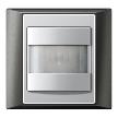 На фото: модель A plus automatic switch anthracite-aluminium от фабрики Jung.