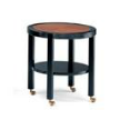 Журнальный столик Chariot Occasional Table Round фабрики Ensemble London, дизайн Hutton John.
