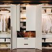 На фото: модель Elumo wardrobe от фабрики Huelsta.