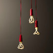 модель Plumen drop cap pendant set redмодель NUD Base от фабрики NUD Collection. от фабрики Plumen.