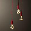 модель Plumen drop cap pendant set redмодель NUD Base от фабрики NUD Collection. от фабрики Plumen.