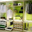 Фрагмент гардеробной от фабрики MARTI DESIGN GROUP.