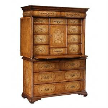Секретер 492252 Seaweed Escritoire Cabinet от фабрики Jonathan Charles Fine Furniture.