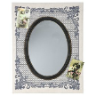 Зеркало с тканевой рамой «Фривольность» от салона Интерьерная лавка.