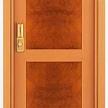 Межкомнатная шпонированная дверь Beech / Madrona briar wood от фабрики Cocif.