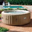Аэромассажный Бассейн 28404 191х71см PureSpa Bubble Therapy+Hard Water System от фабрики Intex.