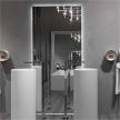 Зеркало для ванной Clean 02 от фабрики Rifra.