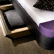Кровать Mioletto Bed от фабрики Huelsta.