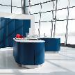 кухня AV 6000 GL Night blue фабрики Haecker.