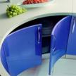 кухня Andromeda Azzurro Flow фабрики Tomassi.
