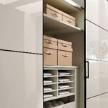Платяной шкаф Multi-forma sliding-door wardrobe фабрики Huelsta.