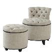 Кресло Chair + Stool Greta Garbo 05740 от фабрики Eichholtz.
