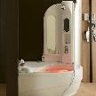 Гидромассажная ванная с душевой кабиной Onis Bioproject от фабрики Albatros.