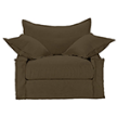 Кресло Leuven Armchair 7842.1101 A008 Brown фабрики Curations Limited.