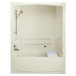 Гидромассажная ванна с душевой кабиной K-12106-C фабрики Kohler.