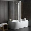 Гидромассажная ванна с душевой кабиной Movida Combi 170 фабрики Albatros.