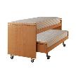 Кровать-трансформер Domino + ruote от фабрики Berloni.