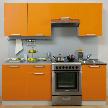Кухонный гарнитур Симпл 2100 от фабрики Боровичи-Мебель.