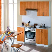 Кухонный гарнитур Лиана-Эконом b-1500 от фабрики Мегаэлатон.