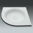 Поддон Excel corner shower tray фабрики Watergame Company.
