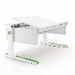 Трансформируемый стол Champion Left up от фабрики moll.