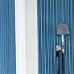 Обои Laurelton Stripe porcelain blue фабрики Designers Guild.