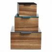 Комплект из трех коробок 104011017550 фабрики BoConcept.