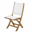 Стул Solana Folding Chair фабрики Gloster.
