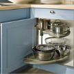 Кухня BRISTOL / Ash agate blue / фабрики Haecker.