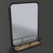 Настенное зеркало с полочкой SW13450 фабрики Roomers.