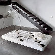 диван-кровать Pierrot king cow от фабрики Bonaldo, дизайн Glenn Thomas.