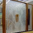 Модель Распашная дверь с гравировкой от фабрики Lumi.