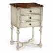Комод люкс 493740 White «Rub-through» Three Drawers Chest от компании Jonathan Charles Fine Furniture.