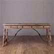 Письменный стол средний French Vintage Writing Scroll Desk от компании  Rеставрация
