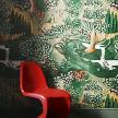обои Verdure, Tapestry Green 310431 на нетканой основе от компании Zoffany.