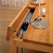 Модель Lilium desk от фабрики Huelsta.