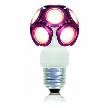Лампа от Bulled Modular pink bulled LEDO LED Technologie.