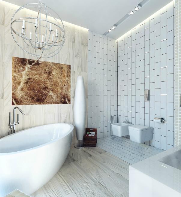 Ванная комната футуризм Смеситель Elghansa Berkshire 3372743 для душа